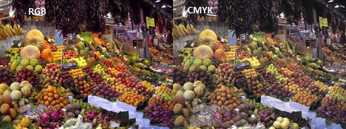 تفاوت سیتم های رنگی CMYK و RGB